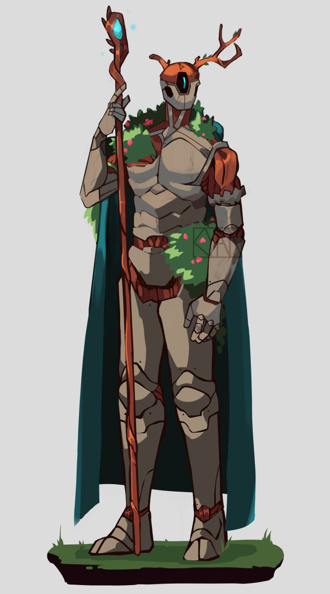 Warforged Druid